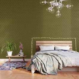Christmas gifts - green and red Wallpaper