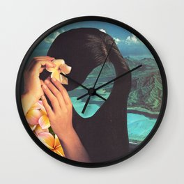 Polynesian Princess Wall Clock