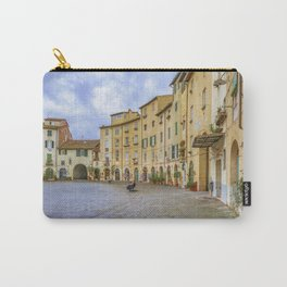 Piazza Anfiteatro, Lucca City, Italy Carry-All Pouch