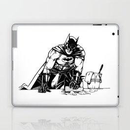 Cleaning up Gotham City Laptop & iPad Skin