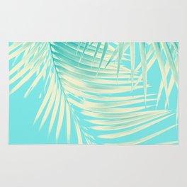 Palm Leaves Summer Vibes #4 #tropical #decor #art #society6 Rug