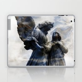 Cemetery Angles with Marble Sky Laptop & iPad Skin