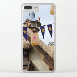 Tangled Tower Clear iPhone Case