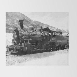 Durango - Silverton Engine 480 Throw Blanket