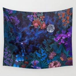 Space Garden Wall Tapestry