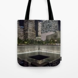 9-11 Memorial New York City Tote Bag