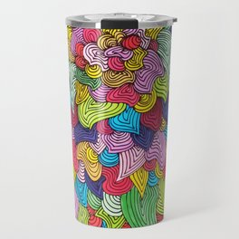 Color Burst Travel Mug