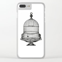 Bird cage Clear iPhone Case