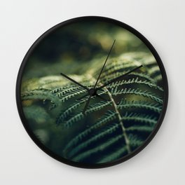 Green and Golden Wall Clock