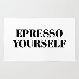 espresso yourself Rug