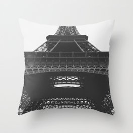 French Cliche Throw Pillow