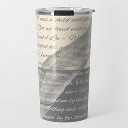 ANNABEL LEE (Allan Poe) Travel Mug