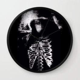 darko selfshot Wall Clock