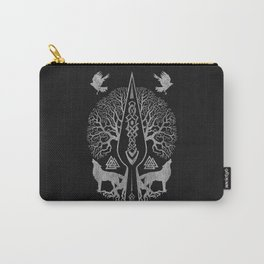 Gungnir - Spear of Odin and Tree of life  -Yggdrasil Carry-All Pouch