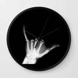 Hang Loose X-Ray Wall Clock