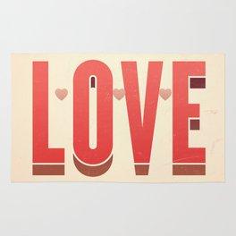 Love, love, love Rug