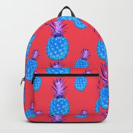 Tropical Punch, Pineapple Pattern Backpack