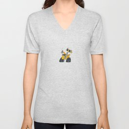 Walle with Hal Unisex V-Neck