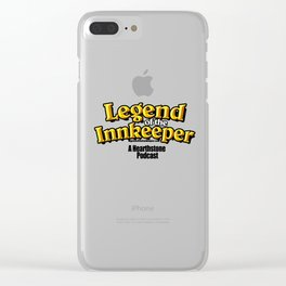 Legend of the Innkeeper Logo #2 Clear iPhone Case