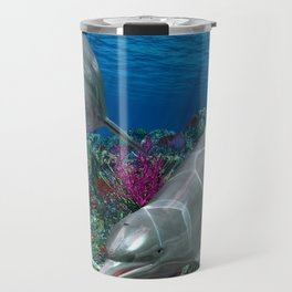 Dolphins Travel Mug