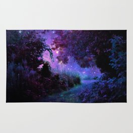 Fantasy Path Purple Rug