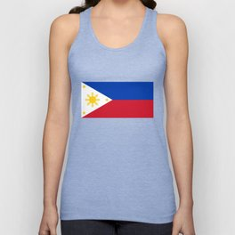 Philippines national flag Unisex Tank Top