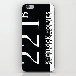 the classics .. 221B iPhone Skin
