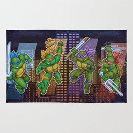 Mutant Ninja Turtle Teenagers Rug