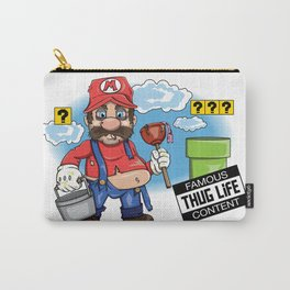 Mario Thug Life Carry-All Pouch