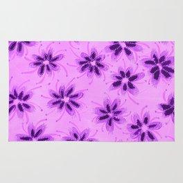 Lavender Blossoms Rug
