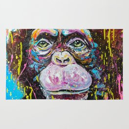 Chimp Rug
