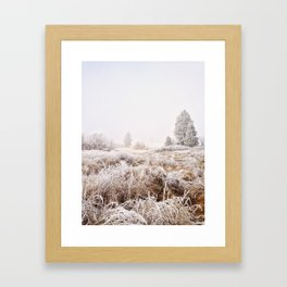 Cold As It Ever Was Framed Art Print