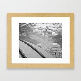 heaven speaks Framed Art Print
