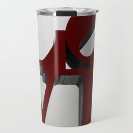 Love Philadelphia Sculpture Travel Mug