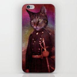 General Jackson (cat) iPhone Skin
