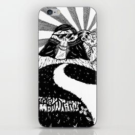 Trippy Mountains iPhone Skin