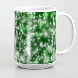 Green Christmas Lights Coffee Mug