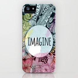 Imagine In Color iPhone Case