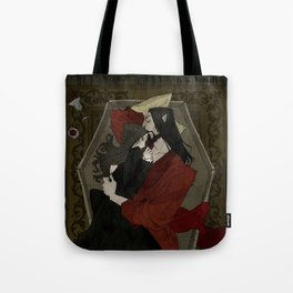 Vampire Lovers Tote Bag