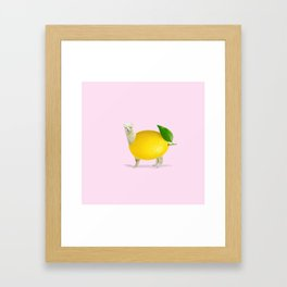 Llamanade Framed Art Print