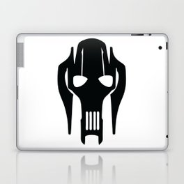 General Grievous Face Silhouette Laptop & iPad Skin