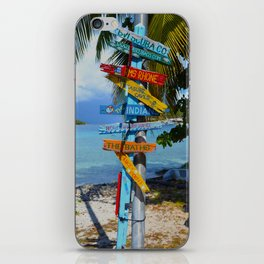 All Roads Lead to Happiness iPhone Skin