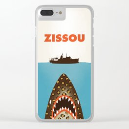 Zissou The Life Aquatic Clear iPhone Case
