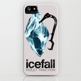 ICEFALL -PIOLET TRACTION- iPhone Case