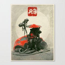 Red Hunter Canvas Print