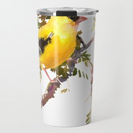 American Goldfinch Travel Mug