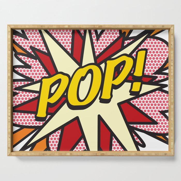 Comic Book Pop Art POP! Serving Tray