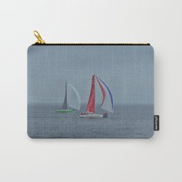part 3 of 4 of Sailing Battle 42-56  - Transat Quebec St-Malo Carry-All Pouch