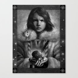 The Golden Compass Canvas Print