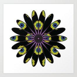 Stylized Flower Art Print